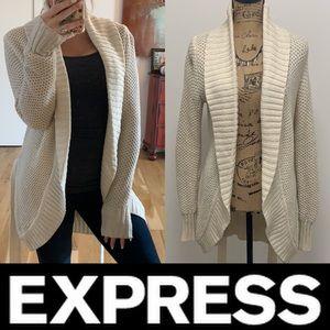 Express Ope Front Cardigan